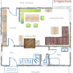 Ferienhaus Harzer Wiesenbaude Grundriss EG