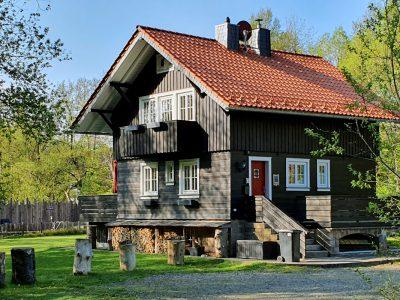 Ferienhaus Harzer Wiesenbaude Außenansicht
